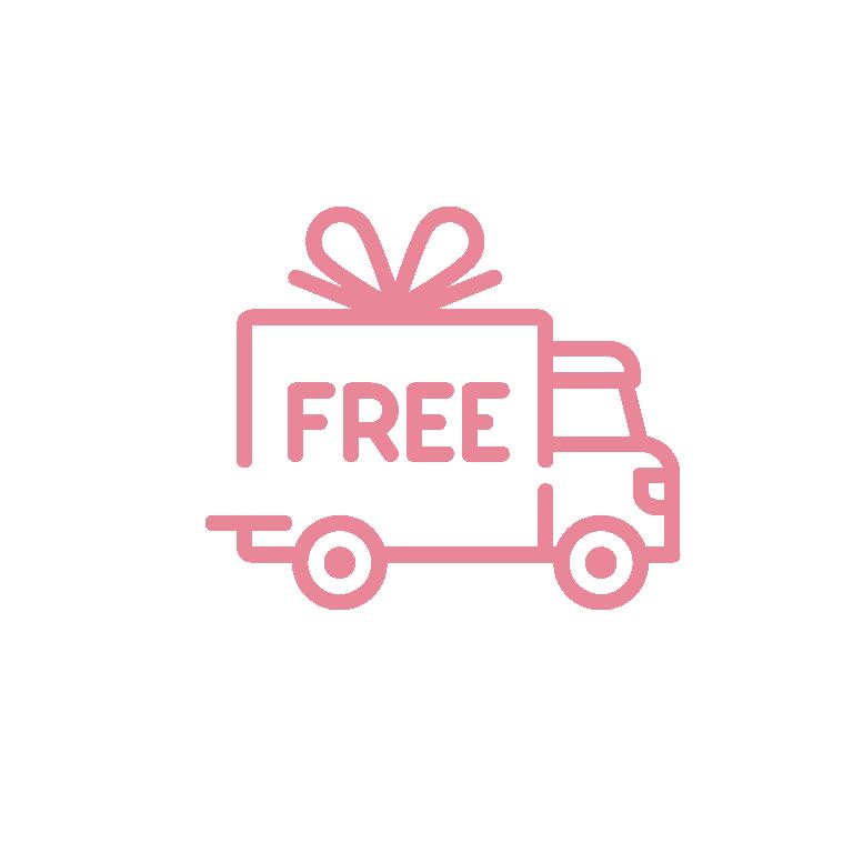 Spedizioni gratuite con Pink Devil Moda