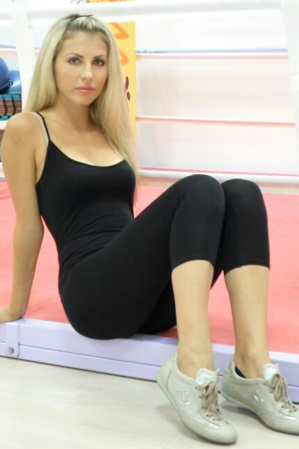 2212 tuta fitness spalla stretta
