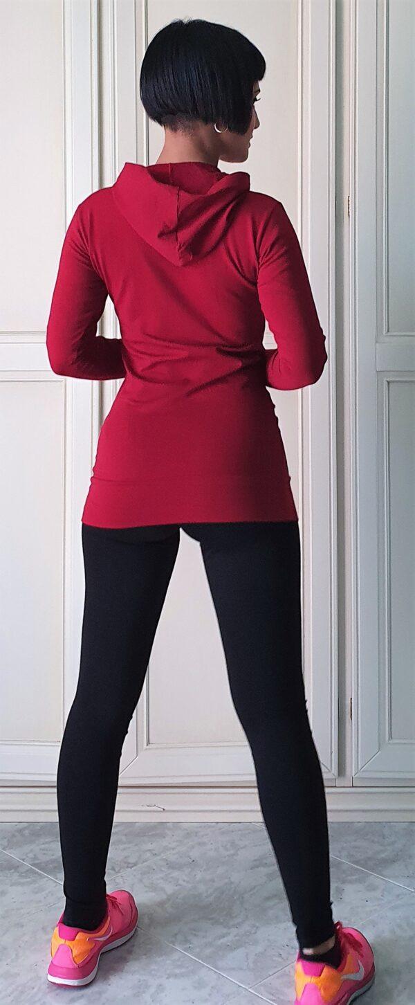 Art. 2407 leggings & maglia con cappuccio e tasca davanti 2413