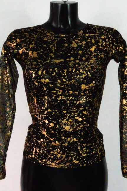 Art. 339 Maglia tulle gold