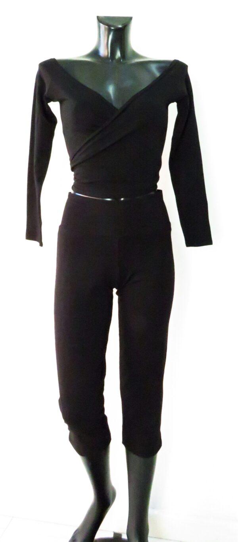 Pantalone spacchetto laterale 3207 & maglia scollatura a barca 3419
