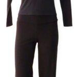 pantalone sigaretta 3708 e maglia con cappuccio e tasca 0507