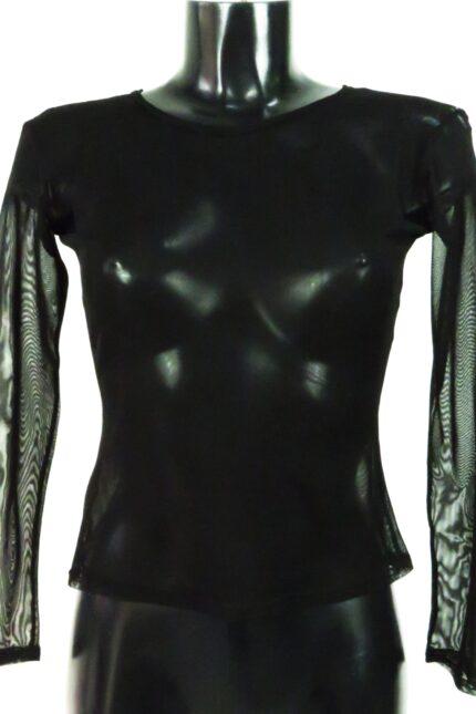 Art. 339 maglia tulle elasticizzato nero